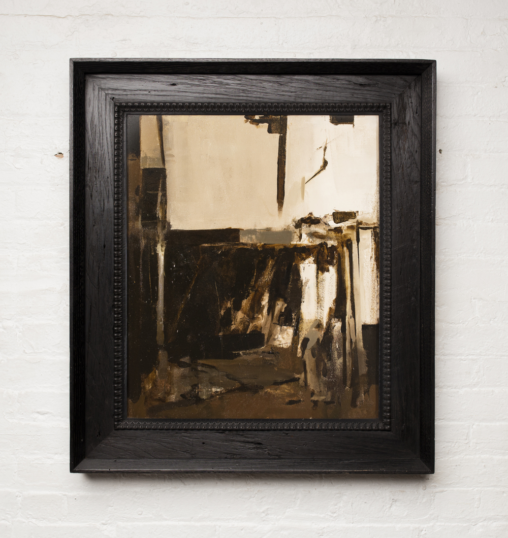 Hollowed Interior,  2015   (framed)