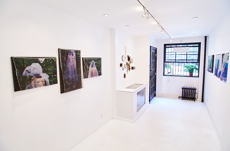 Installation View of Kaylin Andres:  VIATICUM