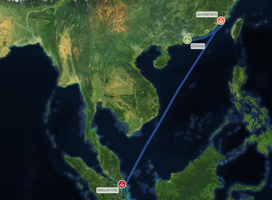 Jason Wee Voyage Map.JPG