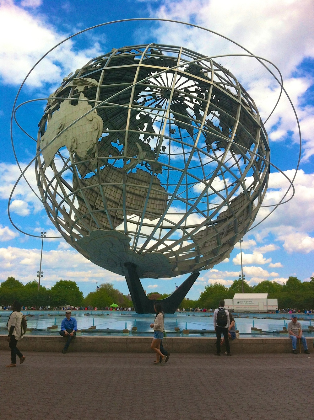 Unisphere from 1964 World's Fair, Flushing Meadows-Corona Park, Queens, NY [Chris Andersson]