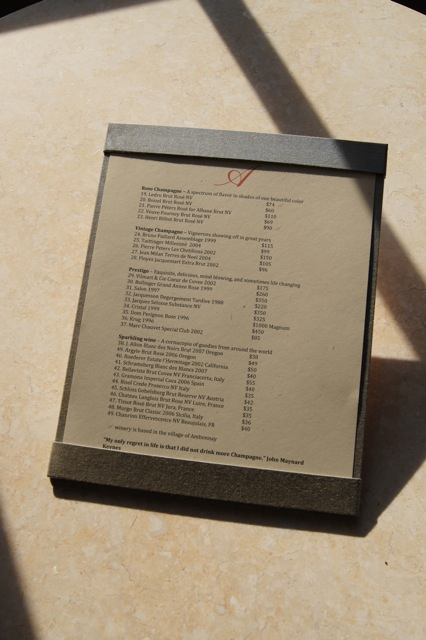 handmade menu boards