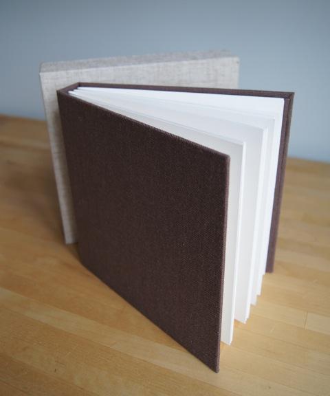 handmade archival album 7x7