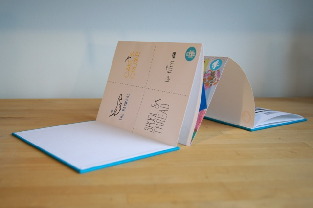 Handmade Book Structures — Hinged Strung Stitched