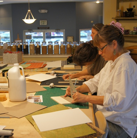students_in_bookbinding_class