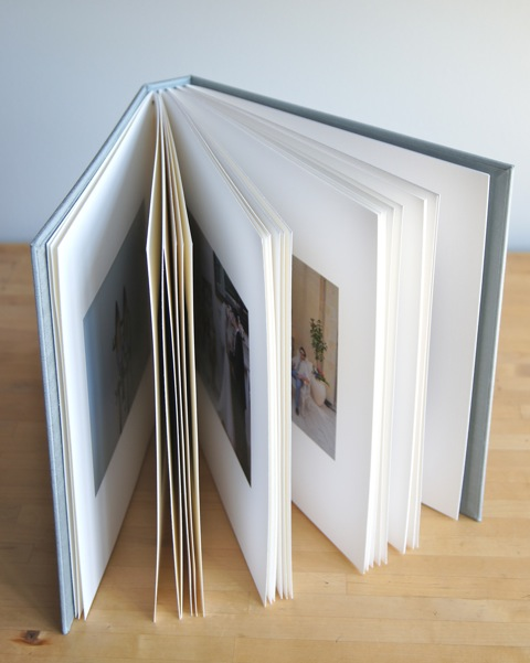 fine binding wedding album