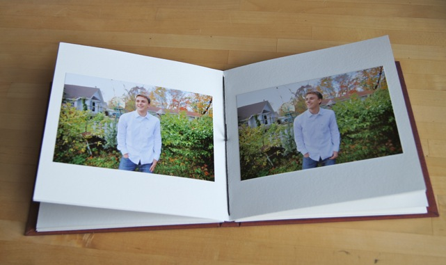 album for senior portrait prints