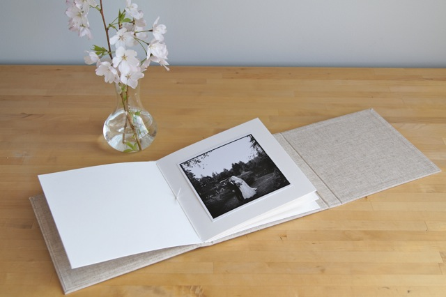 square photo album trifold