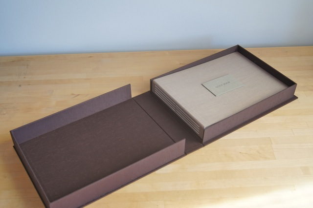 wedding-guest-book-with-clamshell-box