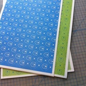 custom printed endsheets