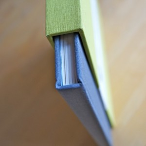 handmade book detail