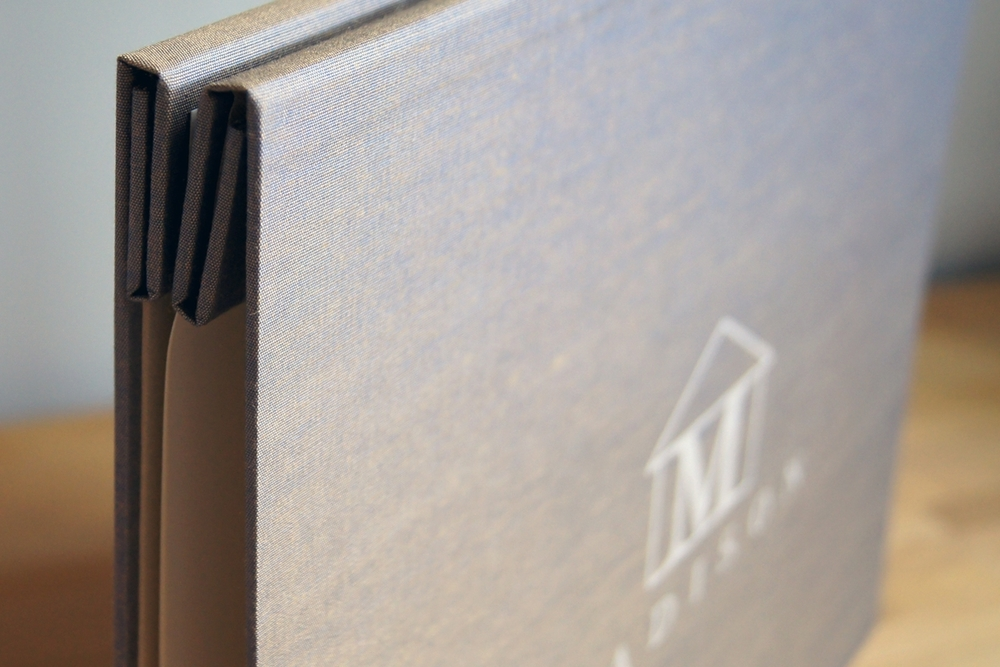 Graphic Design Silkscreened Portfolio Logo