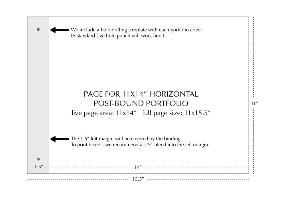 11x14 Horizontal Page