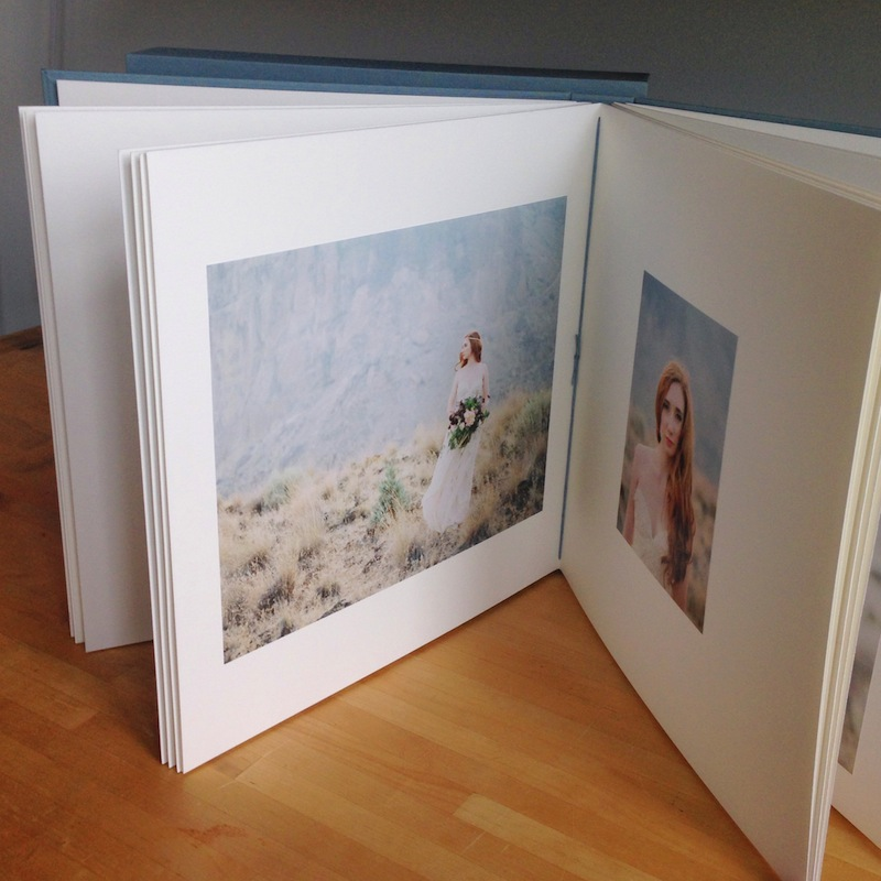 Custom Wedding Album for Printed Photos