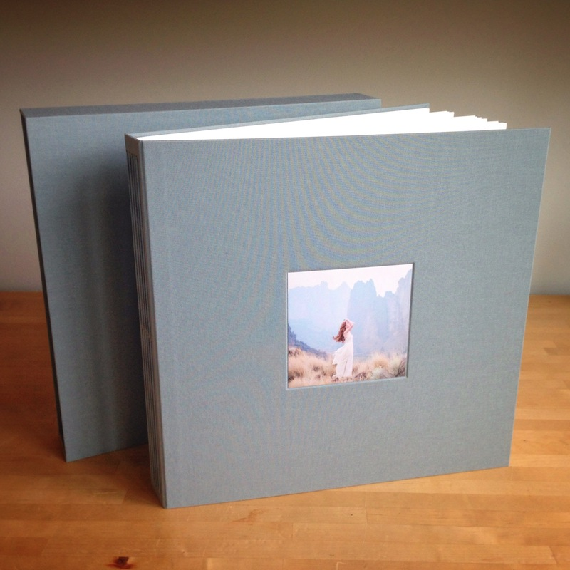 Custom handmade photo album for prints