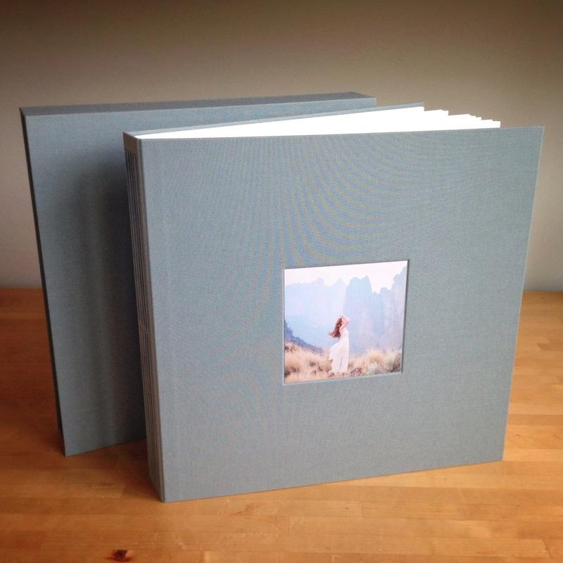 Custom handmade photo album for prints
