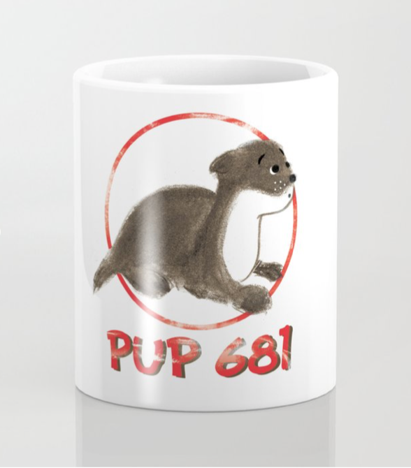 Pup 681 Coffee Mug