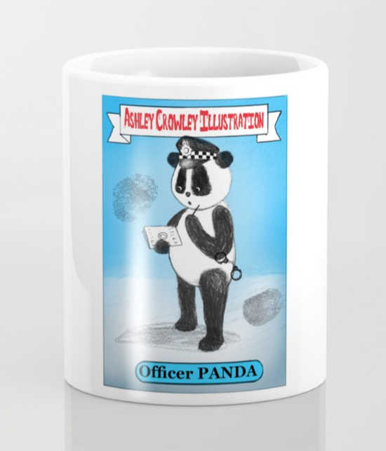 Officer Panda Coffee Mug