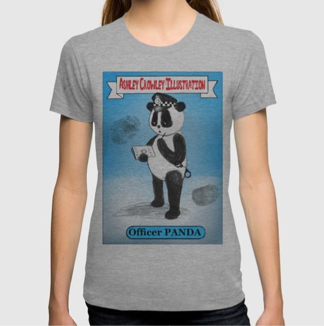 Vintage Officer Panda Tee
