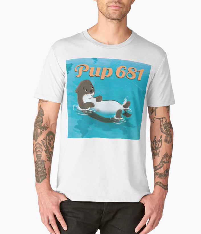 Pup Cover Tee