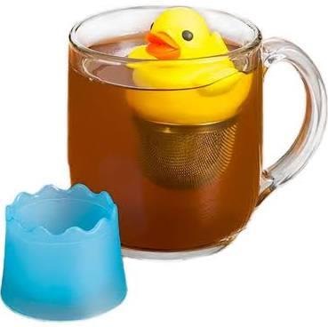 Floating Ducky Tea Infuser — CaryTown Teas