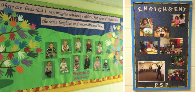 MDO's beautiful bulletin boards!
