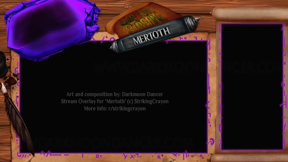 Stream Overlay: StrikingCrayon Mertoth