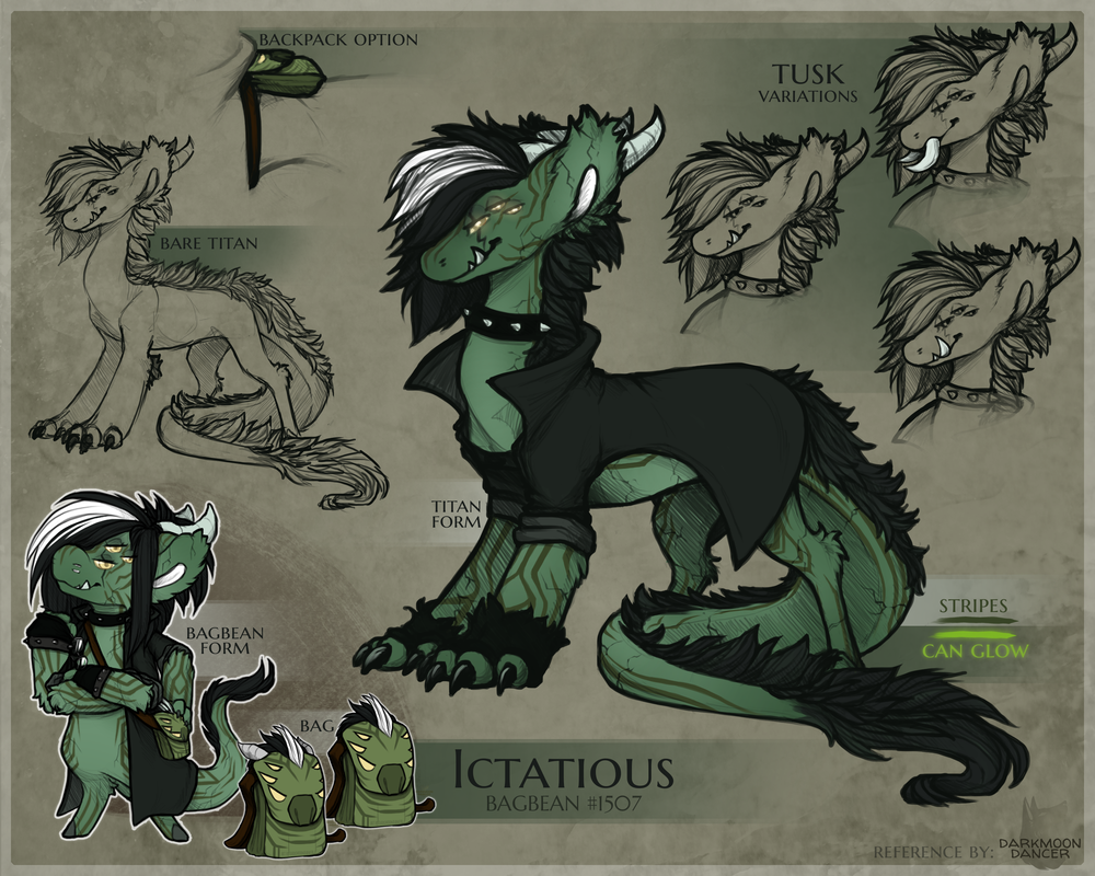 """""""Ictatious Titan Form Reference Sheet"""""""