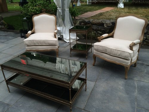 Kadeema Rentals Furniture - Pottery barn colette coffee table