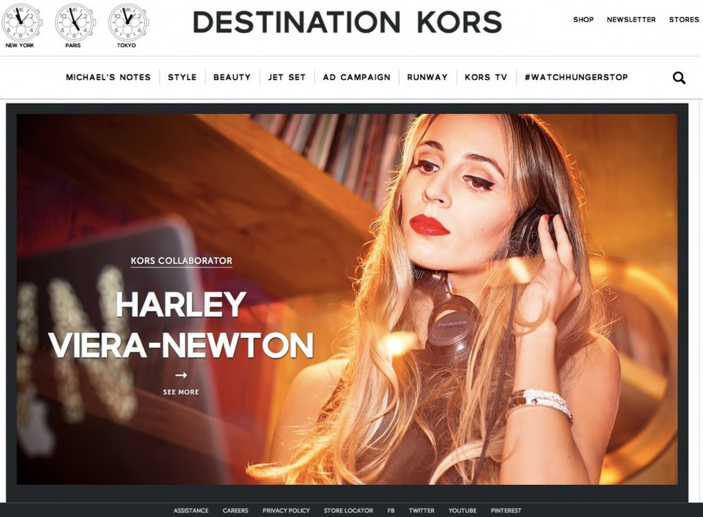 DESTINATION KORS CAMPAIGN