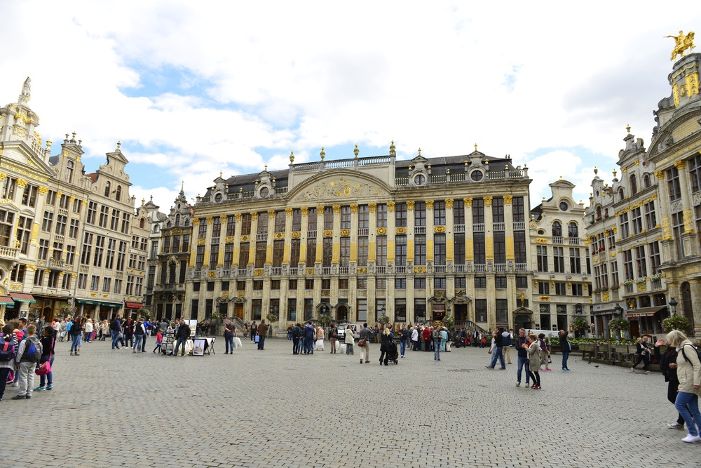 The Market Square in Brussels.