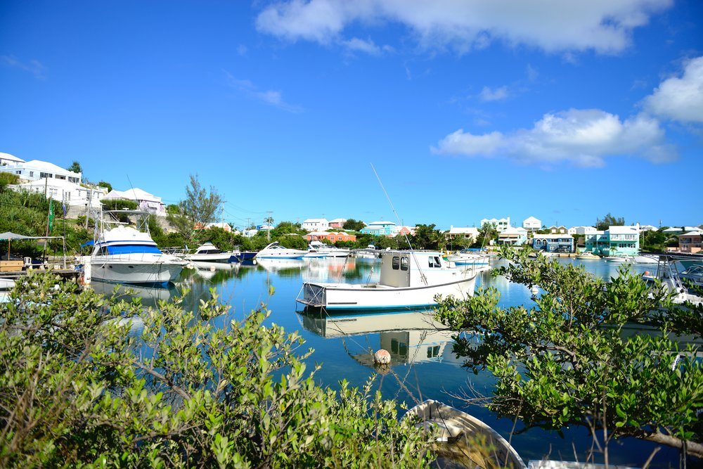 I loved all the boats and brightly colored homes in this area.