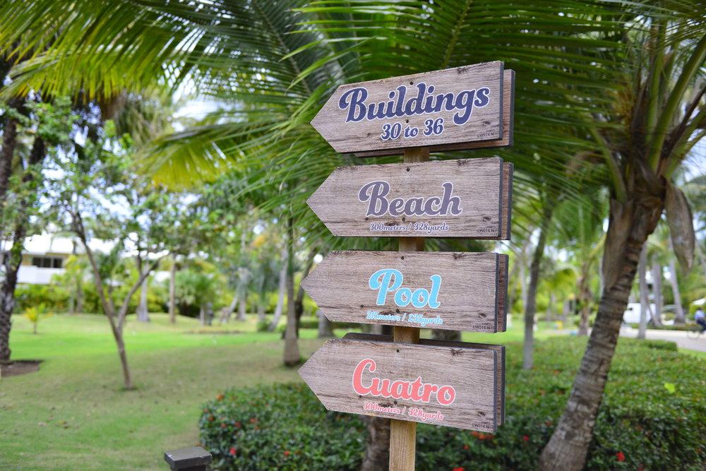 Hmmm, wonder which way i went... -melia caribe tropical punta cana - dana chirps - adventure blogger