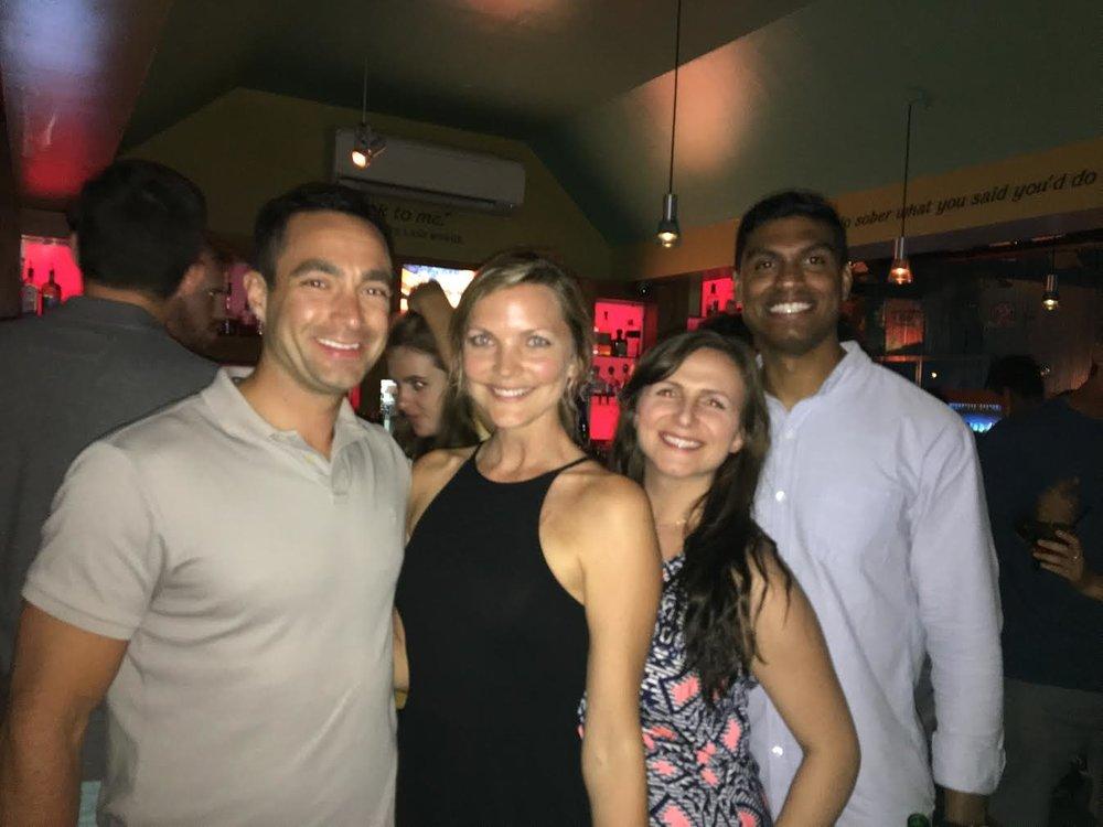 Out in Hamilton, Bermuda - Dana Chirps
