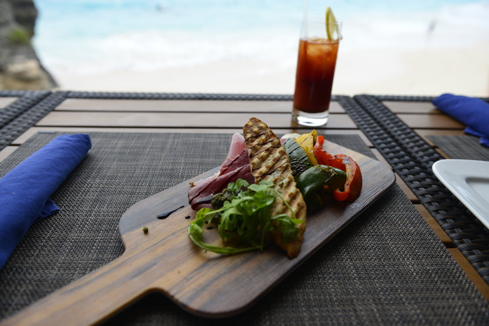 Food with a view - Bermuda
