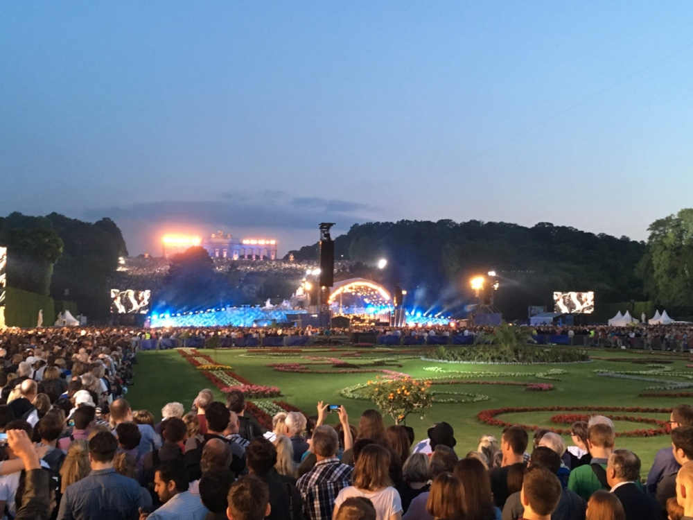 The concert.