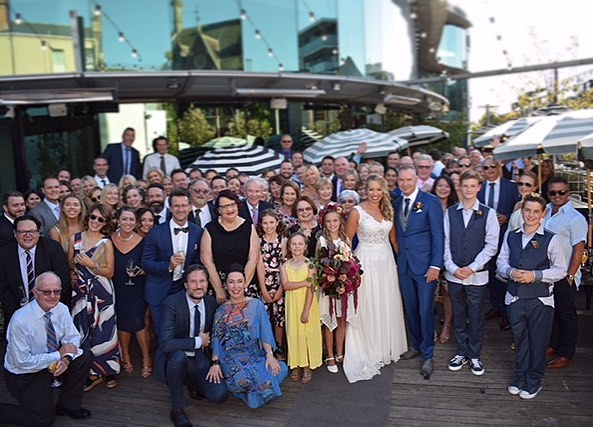 • Hawthorn Common Deck • These guys knew how to party.  Congratulations Bec & Dave on your big day! #seeyouonthedeck #hawthorncommon  #hawthorncommonevents #melbournewedding #melbournerooftops