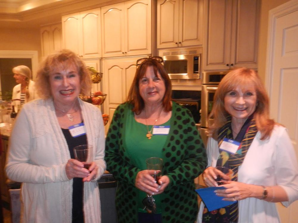 Our newest members: Elly Seavey, Crystal Salapatas and Susan Stone