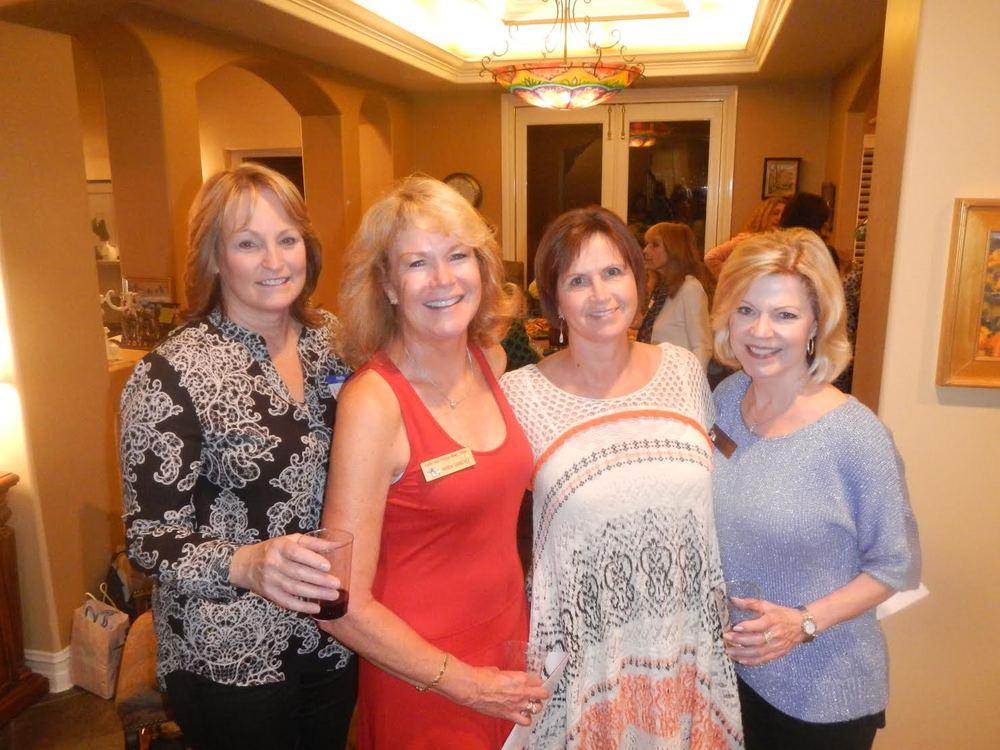 Barb Murray, Maria Sanchez, Gina Noland, Bonnie Delvy
