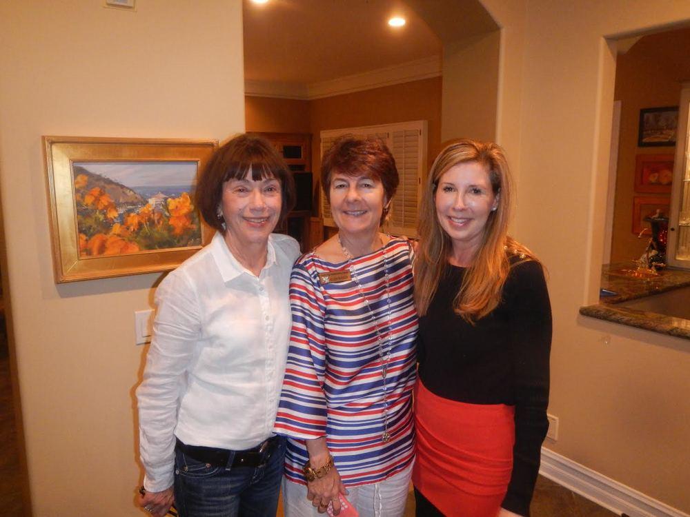 Stephanie Walch, Ellen Burson and Mary Griffith