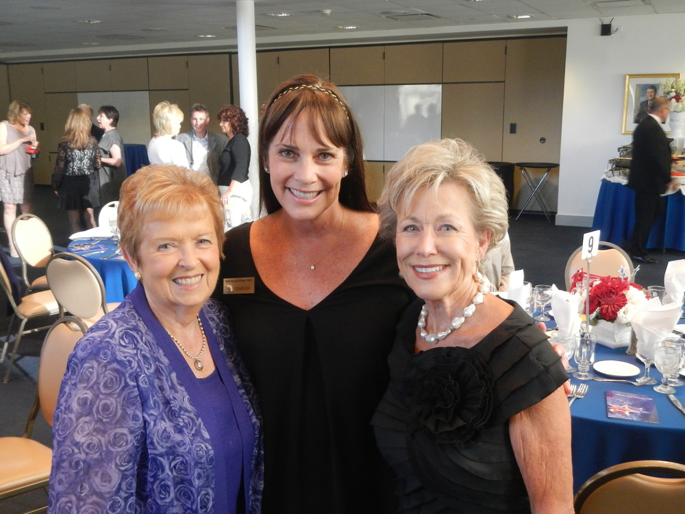 Peggy Sadler, Susaan Ash and Janice Gallegly