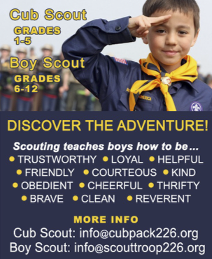 Cub Scouts and Boy Scouts — Church on the Hill - San Jose, California