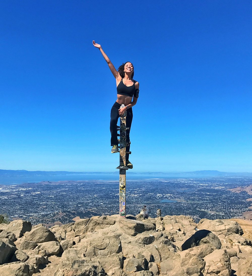 Reaching the Mission Peak Summit