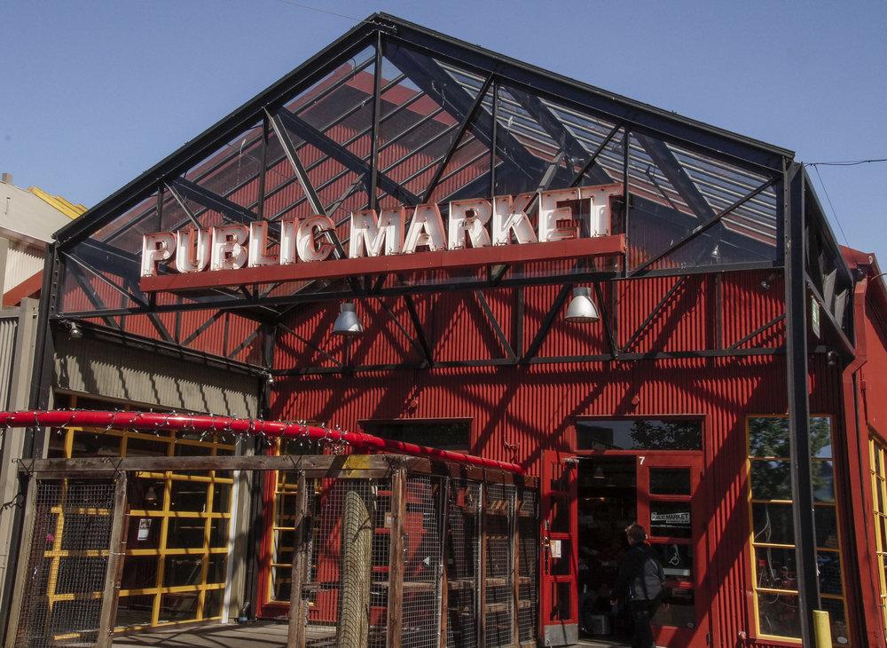 Public Market - Vancouver, BC