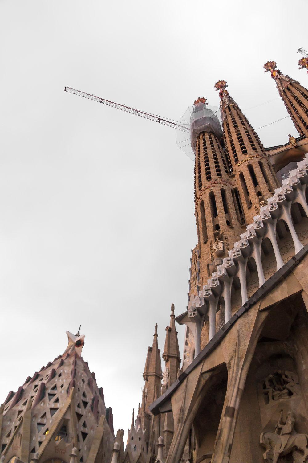 La Sagrada Familia - Barcelona, Spain