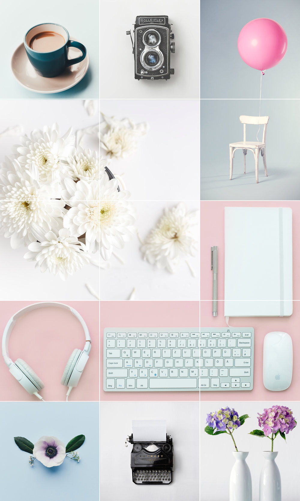 My pretty styled Insta-grid