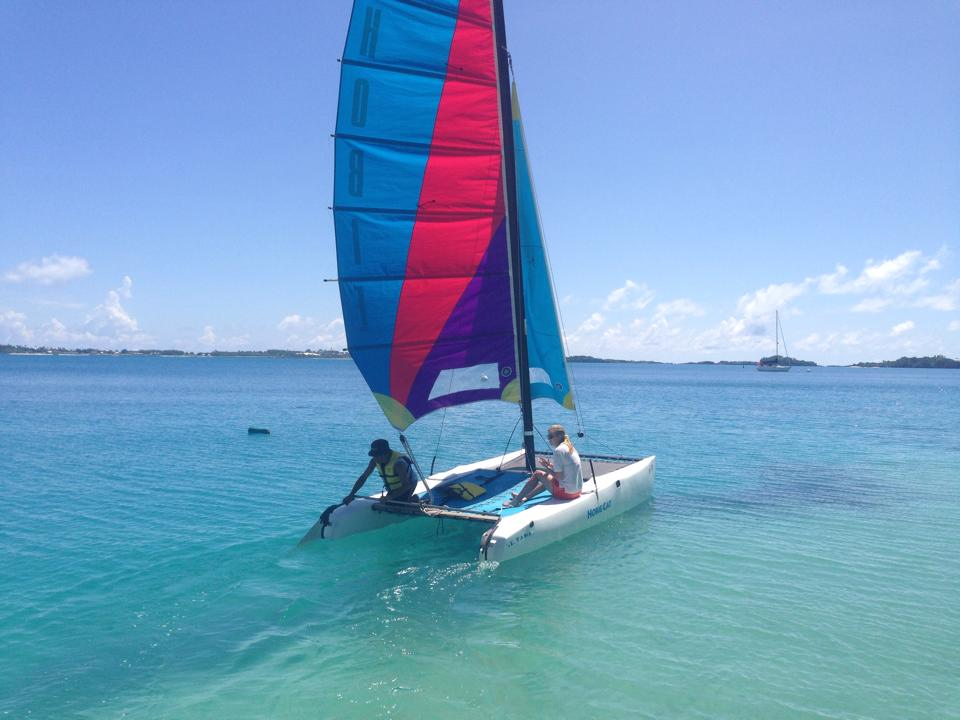 watersports - sailing