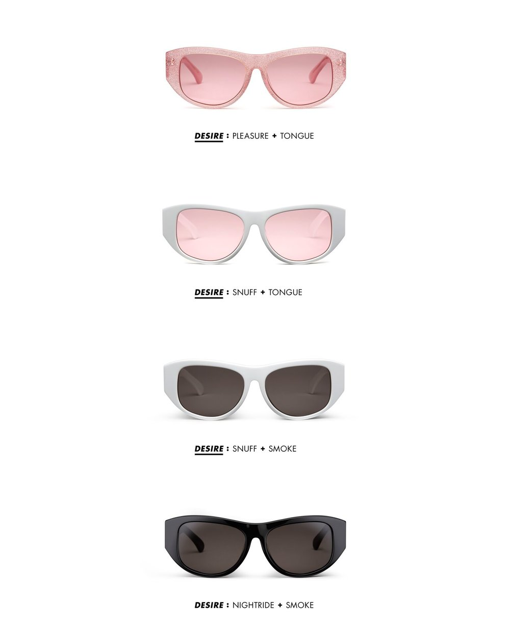 CARLA COLOUR X LANA JAY LACKEY SUNGLASSES