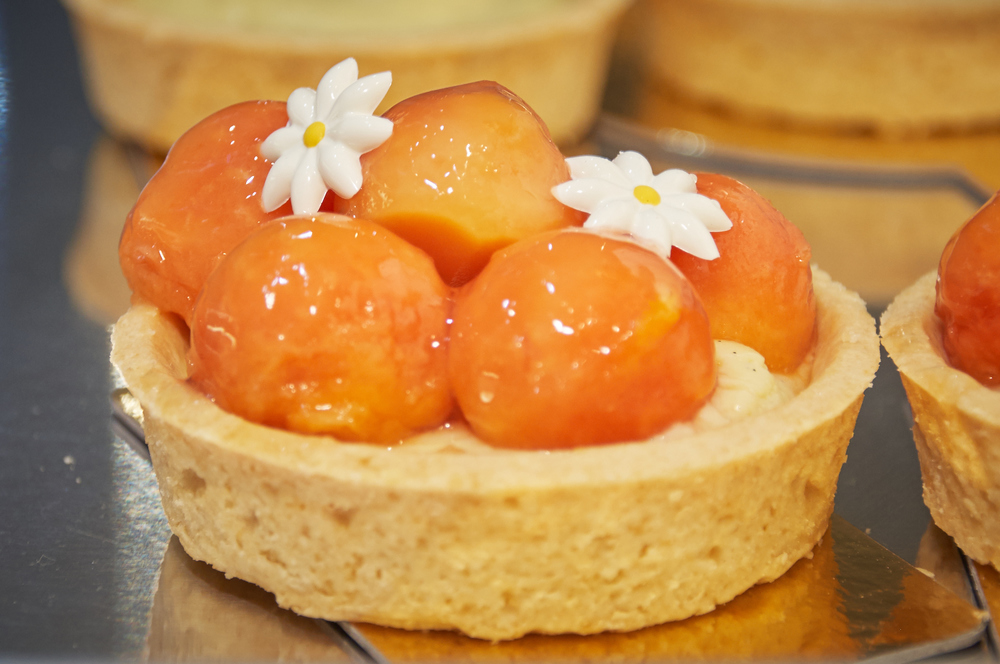 Papaya Fruit Tart