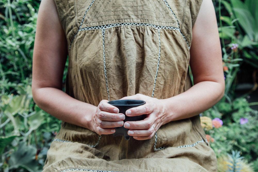 Hand model for Tea & Sympathy. Photo: Emma Byrnes.