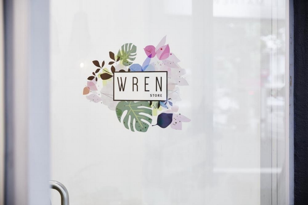 IDENTITY  / Wren Store 2015 Logo design, business card, signage and website art direction.